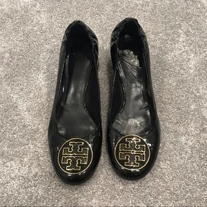 Tory Burch Black Patent Leather Heels
